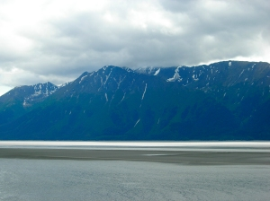 Mudflats in Turnagain Arm... I will write more about its extreme tides soon!