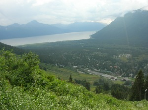 Girdwood from above