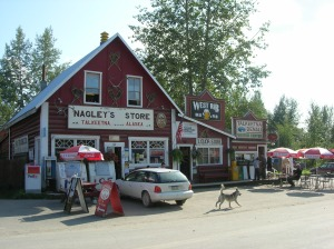 Nagley's General Store, built in 1921. All of the candy and supplies hanging inside reminded me of Montan's recreated ghost towns.