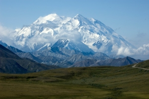 My favorite view of Denali from Stony Pass