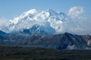 Denali from the Eielson Visitor Center